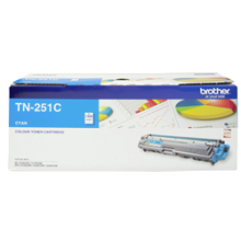 Genuine Brother TN-251C Cyan Toner
