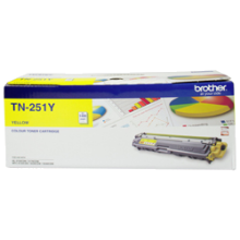 Genuine Brother TN-251Y Yellow Toner Cartridge