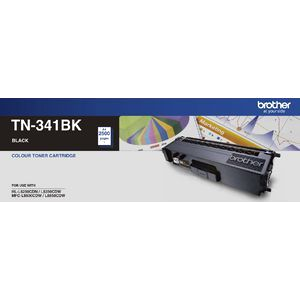 Genuine Brother TN-341BK Black  Toner Cartridge