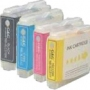 Compatible Brother LC-57 Ink Cartridge Set (1BK,1C,1M,1Y) Pack of 4