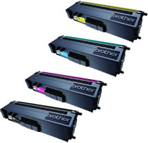 Compatible Brother TN-341 TN-346 Toner Value Pack High Yield