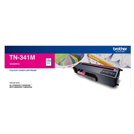 Genuine Brother TN-341M Magenta Toner Cartridge