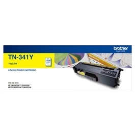 Genuine Brother TN-341Y Yellow Toner Cartridge