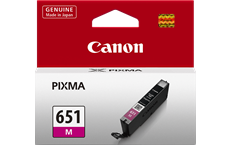 Genuine Canon CLI-651XLM Magenta Ink Cartridge High Yield