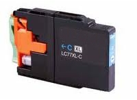 Compatible Brother LC-77XL Cyan Ink Cartridge