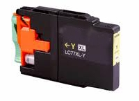 Compatible Brother LC-77XL Yellow Ink Cartridge