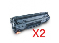 Value Pack-2 Compatible Canon CART-328 Toner Cartridge