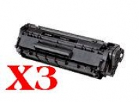 Value Pack-3 Compatible Canon FX-9 Toner Cartridge
