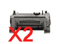 Value Pack-2 Compatible HP CC364X Toner Cartridge 90X