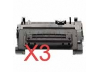 Value Pack-3 Compatible HP CE390A Toner Cartridge 90A