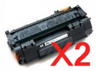 Value Pack-2 Compatible HP Q5949A Toner Cartridge 49A