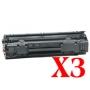 Compatible HP CB435A Toner Cartridge