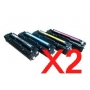 Compatible HP CC530A SET8