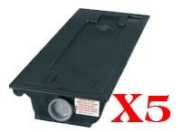 Value Pack-5 Compatible Kyocera TK-410 Toner Cartridge